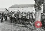 Image of United States troops march in French town in World War 1 France, 1918, second 52 stock footage video 65675021505