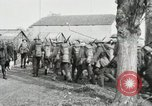 Image of United States troops march in French town in World War 1 France, 1918, second 53 stock footage video 65675021505