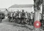 Image of United States troops march in French town in World War 1 France, 1918, second 54 stock footage video 65675021505