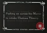 Image of Marne Operation France, 1918, second 13 stock footage video 65675021522