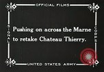 Image of Marne Operation France, 1918, second 14 stock footage video 65675021522