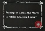 Image of Marne Operation France, 1918, second 15 stock footage video 65675021522
