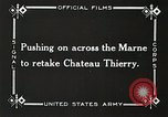 Image of Marne Operation France, 1918, second 16 stock footage video 65675021522