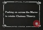 Image of Marne Operation France, 1918, second 17 stock footage video 65675021522