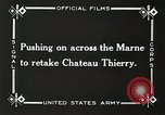 Image of Marne Operation France, 1918, second 18 stock footage video 65675021522