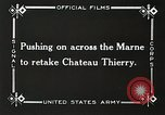 Image of Marne Operation France, 1918, second 21 stock footage video 65675021522