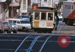 Image of Cable cars in North Beach area San Francisco San Francisco California USA, 1968, second 15 stock footage video 65675021686