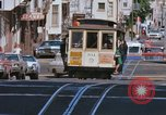Image of Cable cars in North Beach area San Francisco San Francisco California USA, 1968, second 16 stock footage video 65675021686