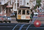 Image of Cable cars in North Beach area San Francisco San Francisco California USA, 1968, second 17 stock footage video 65675021686