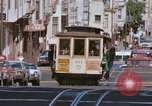 Image of Cable cars in North Beach area San Francisco San Francisco California USA, 1968, second 18 stock footage video 65675021686