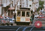 Image of Cable cars in North Beach area San Francisco San Francisco California USA, 1968, second 19 stock footage video 65675021686