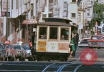 Image of Cable cars in North Beach area San Francisco San Francisco California USA, 1968, second 20 stock footage video 65675021686