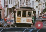Image of Cable cars in North Beach area San Francisco San Francisco California USA, 1968, second 22 stock footage video 65675021686