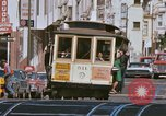 Image of Cable cars in North Beach area San Francisco San Francisco California USA, 1968, second 23 stock footage video 65675021686