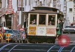 Image of Cable cars in North Beach area San Francisco San Francisco California USA, 1968, second 24 stock footage video 65675021686