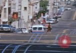 Image of Cable cars in North Beach area San Francisco San Francisco California USA, 1968, second 38 stock footage video 65675021686