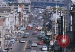 Image of Cable cars in North Beach area San Francisco San Francisco California USA, 1968, second 41 stock footage video 65675021686
