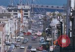 Image of Cable cars in North Beach area San Francisco San Francisco California USA, 1968, second 42 stock footage video 65675021686