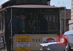 Image of Cable cars in North Beach area San Francisco San Francisco California USA, 1968, second 55 stock footage video 65675021686