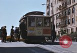 Image of North Beach San Francisco cable car 1960s San Francisco California USA, 1968, second 16 stock footage video 65675021687