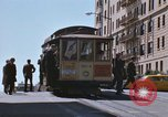 Image of North Beach San Francisco cable car 1960s San Francisco California USA, 1968, second 17 stock footage video 65675021687