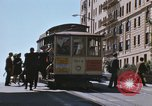 Image of North Beach San Francisco cable car 1960s San Francisco California USA, 1968, second 19 stock footage video 65675021687