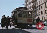 Image of North Beach San Francisco cable car 1960s San Francisco California USA, 1968, second 20 stock footage video 65675021687