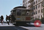 Image of North Beach San Francisco cable car 1960s San Francisco California USA, 1968, second 23 stock footage video 65675021687