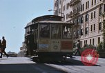 Image of North Beach San Francisco cable car 1960s San Francisco California USA, 1968, second 24 stock footage video 65675021687