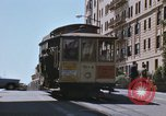 Image of North Beach San Francisco cable car 1960s San Francisco California USA, 1968, second 25 stock footage video 65675021687