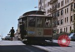 Image of North Beach San Francisco cable car 1960s San Francisco California USA, 1968, second 27 stock footage video 65675021687