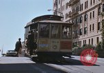 Image of North Beach San Francisco cable car 1960s San Francisco California USA, 1968, second 28 stock footage video 65675021687