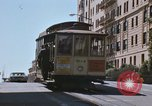 Image of North Beach San Francisco cable car 1960s San Francisco California USA, 1968, second 29 stock footage video 65675021687