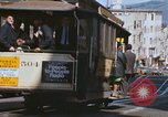 Image of North Beach San Francisco cable car 1960s San Francisco California USA, 1968, second 34 stock footage video 65675021687
