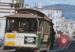 Image of North Beach San Francisco cable car 1960s San Francisco California USA, 1968, second 35 stock footage video 65675021687