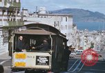 Image of North Beach San Francisco cable car 1960s San Francisco California USA, 1968, second 36 stock footage video 65675021687