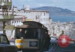 Image of North Beach San Francisco cable car 1960s San Francisco California USA, 1968, second 37 stock footage video 65675021687