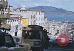 Image of North Beach San Francisco cable car 1960s San Francisco California USA, 1968, second 39 stock footage video 65675021687