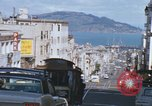 Image of North Beach San Francisco cable car 1960s San Francisco California USA, 1968, second 41 stock footage video 65675021687