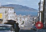 Image of North Beach San Francisco cable car 1960s San Francisco California USA, 1968, second 42 stock footage video 65675021687