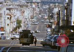 Image of North Beach San Francisco cable car 1960s San Francisco California USA, 1968, second 57 stock footage video 65675021687
