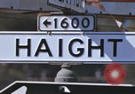 Image of Hippies San Francisco California USA, 1968, second 15 stock footage video 65675021688
