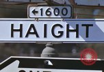 Image of Hippies San Francisco California USA, 1968, second 16 stock footage video 65675021688