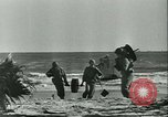 Image of World War II amphibious assault in Pacific Pacific Theater, 1944, second 20 stock footage video 65675021727