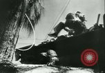 Image of World War II amphibious assault in Pacific Pacific Theater, 1944, second 24 stock footage video 65675021727