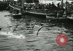 Image of Swimming meet in Barcelona Barcelona Spain, 1942, second 25 stock footage video 65675021790