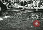 Image of Swimming meet in Barcelona Barcelona Spain, 1942, second 27 stock footage video 65675021790
