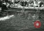 Image of Swimming meet in Barcelona Barcelona Spain, 1942, second 28 stock footage video 65675021790