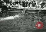 Image of Swimming meet in Barcelona Barcelona Spain, 1942, second 29 stock footage video 65675021790