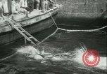 Image of Swimming meet in Barcelona Barcelona Spain, 1942, second 30 stock footage video 65675021790